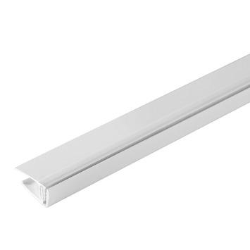 Grosfillex startprofiel Clipcottage wit 260 cm