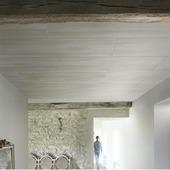 Lambris en PVC Easytop Grosfillex 3,36 m² beige mat