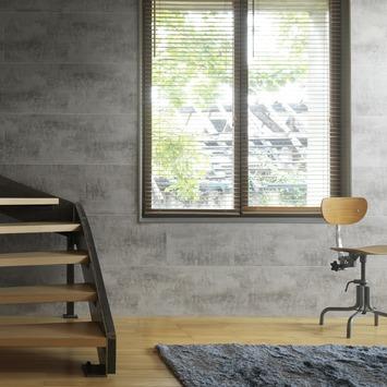 Grosfillex paneel Attitude donker beton 8 mm 2,7 m²