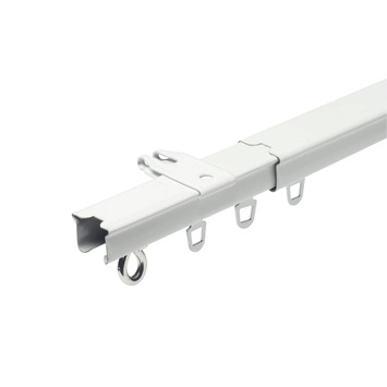 Rail extensible complet Intensions blanc 160-300 cm