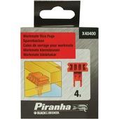 Black+Decker klemsteunen voor Workmate PIRANHA X404000-XJ 4 stuks