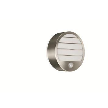 Applique extérieure avec détecteur de mouvement Linz Massive ampoule économique E27 18W 1100 lumens inox