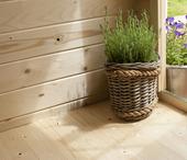 Vloer voor tuinhuis 380x230 cm