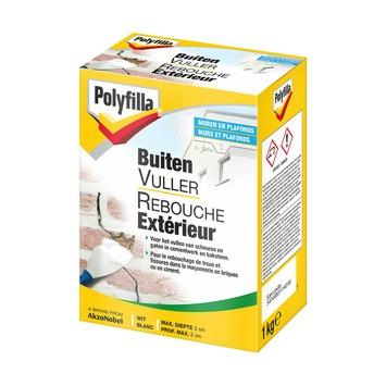 Polyfilla buitenvuller poeder wit 1 kg