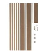 Huisserie Easykit CanDo MDF naturel 20 cm