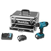 Makita accuboormachine 18 V inclusief accessoireset 70-delig