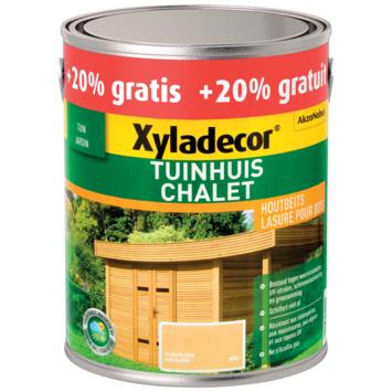 Xyladecor Tuinhuis mat kleurloos 2,5 L + 20% extra