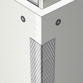 Versterkings- en afwerkingsprofiel voor rechte buitenhoeken 300 cm
