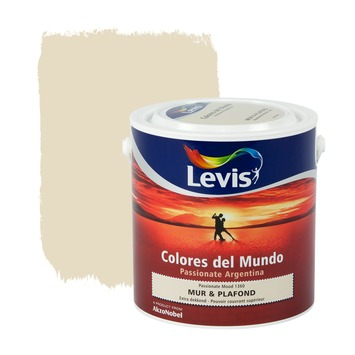 Levis Colores del Mundo muur- en plafondverf mat passionate mood 2,5 L