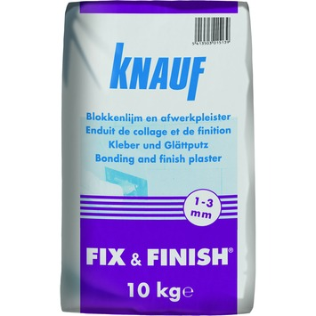 Knauf Fix & Finish gipsmortel 10 kg