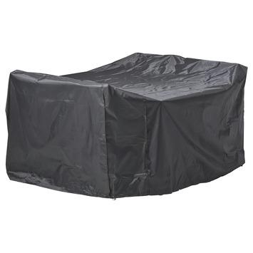 Tuinsethoes grijs 180x180x95 cm