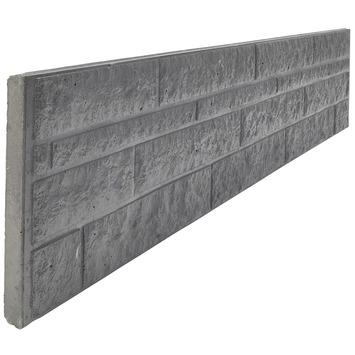 Panneau de clôture roche Garden Elements 36x184 cm anthracite ...