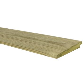 Potdekselplank ± 1,8x13,8x240 cm