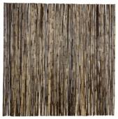 Rouleau bambou naturel 180x180 cm noir