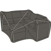 Housse pour ensemble lounge 250x250x80 cm