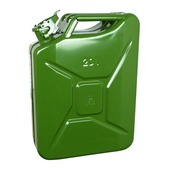Jerrycan Carpoint vert métallisé 20 L
