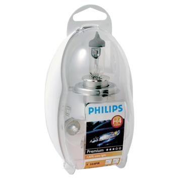 Jeu d'ampoules H4 Premium Philips