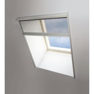 Moustiquaire enroulable pour fenêtre Deluxe Fikszo 58x150 cm blanc
