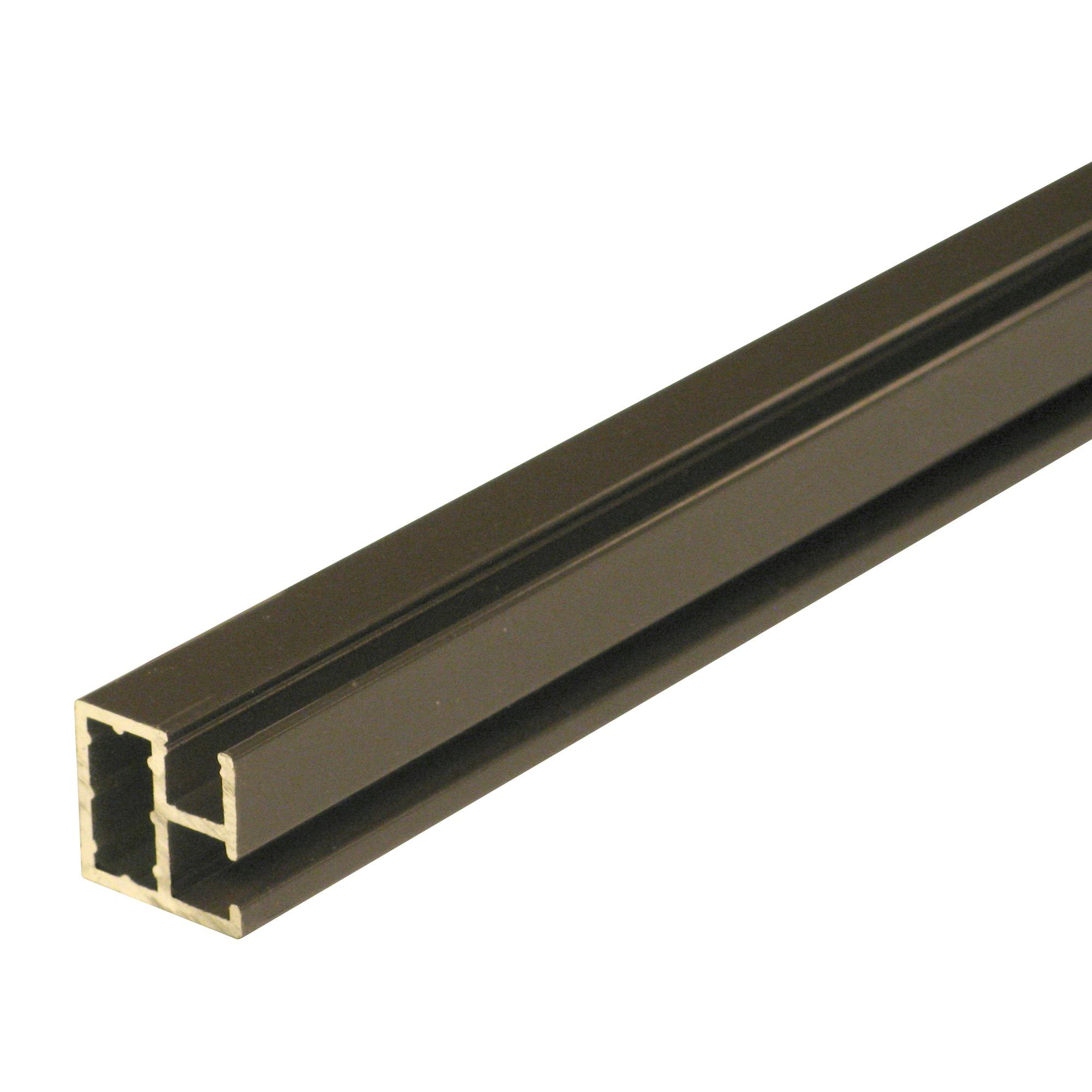 Profil moustiquaire en aluminium fikszo 200 cm brun for Gamma porte et fenetre