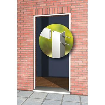 Cadre à encastrer porte moustiquaire Fikszo 215x108 cm argenté
