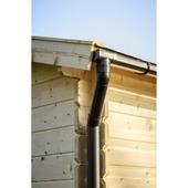 Dakgotenset voor tuinhuis enkel 380 cm