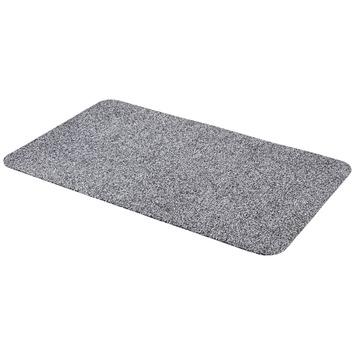 Voetmat Cotton Pro Dry  60 cm x 100 cm grijs