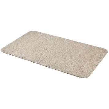 Voetmat Cotton Pro Dry  60 cm x 100 cm zand