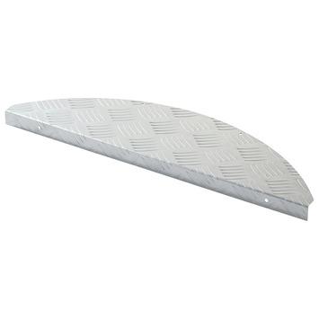Traptrede traanplaat aluminium
