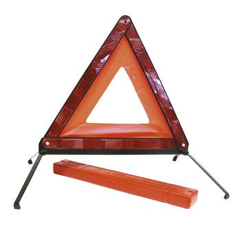 Triangle de présignalisation support fixe