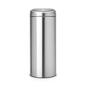 Brabantia 30 Liter Prullenbak.Brabantia Touch Bin Afvalemmer Mat Staal 30 L