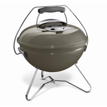 Weber houtskoolbarbecue Smokey Joe premium Ø37 cm grijs