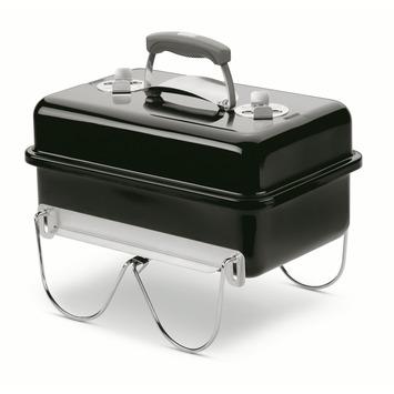Weber houtskoolbarbecue Go-Anywhere zwart