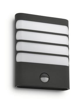 Applique extérieure avec détecteur de mouvement Raccoon Philips LED intégrée 3W 270 lumens noir