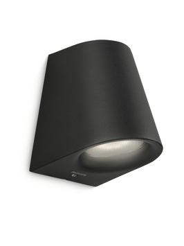 Applique extérieure Virga Philips LED intégrée 3W 270 lumens noir