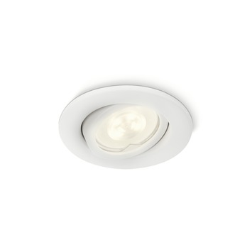 Philips inbouwspot Fresco LED GU10 5W 350 lumen wit