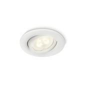 Spot extérieur à encastrer Fresco Philips ampoule LED GU10 5W 350 lumens blanc