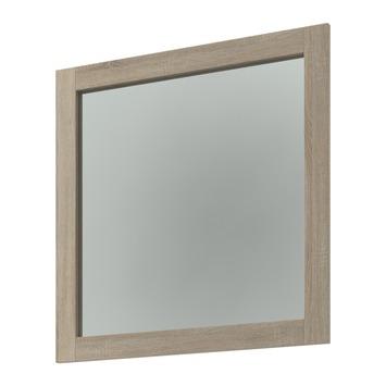 Miroir Heros Bruynzeel 80x80x4 cm chêne clair