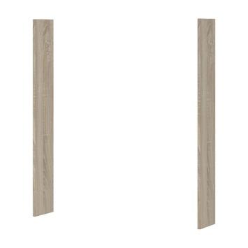 Panneau pour armoire à miroir Optima Bruynzeel 65x2x12 cm chêne gris 2 pièces