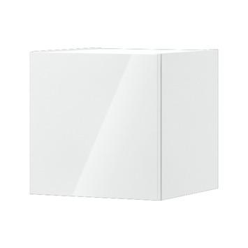 Bruynzeel Monta blokkast 35x35x35 cm 1 deur hoogglans wit