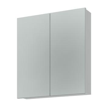 Armoire à miroir Bruynzeel 65x60x15 cm 2 portes (sans panneaux)