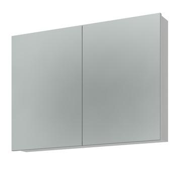 Armoire à miroir Bruynzeel 65x90x15 cm 2 portes (sans panneaux)