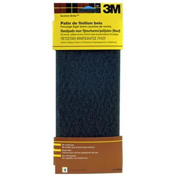 Patin de finition pour bois fin 3M Scotch-Brite