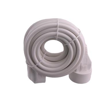 Rallonge Exin blanc 3x1,5 mm² - long. 5 m