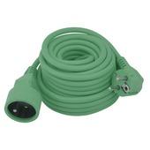 Rallonge Exin 3x 1,5mm² 10m vert