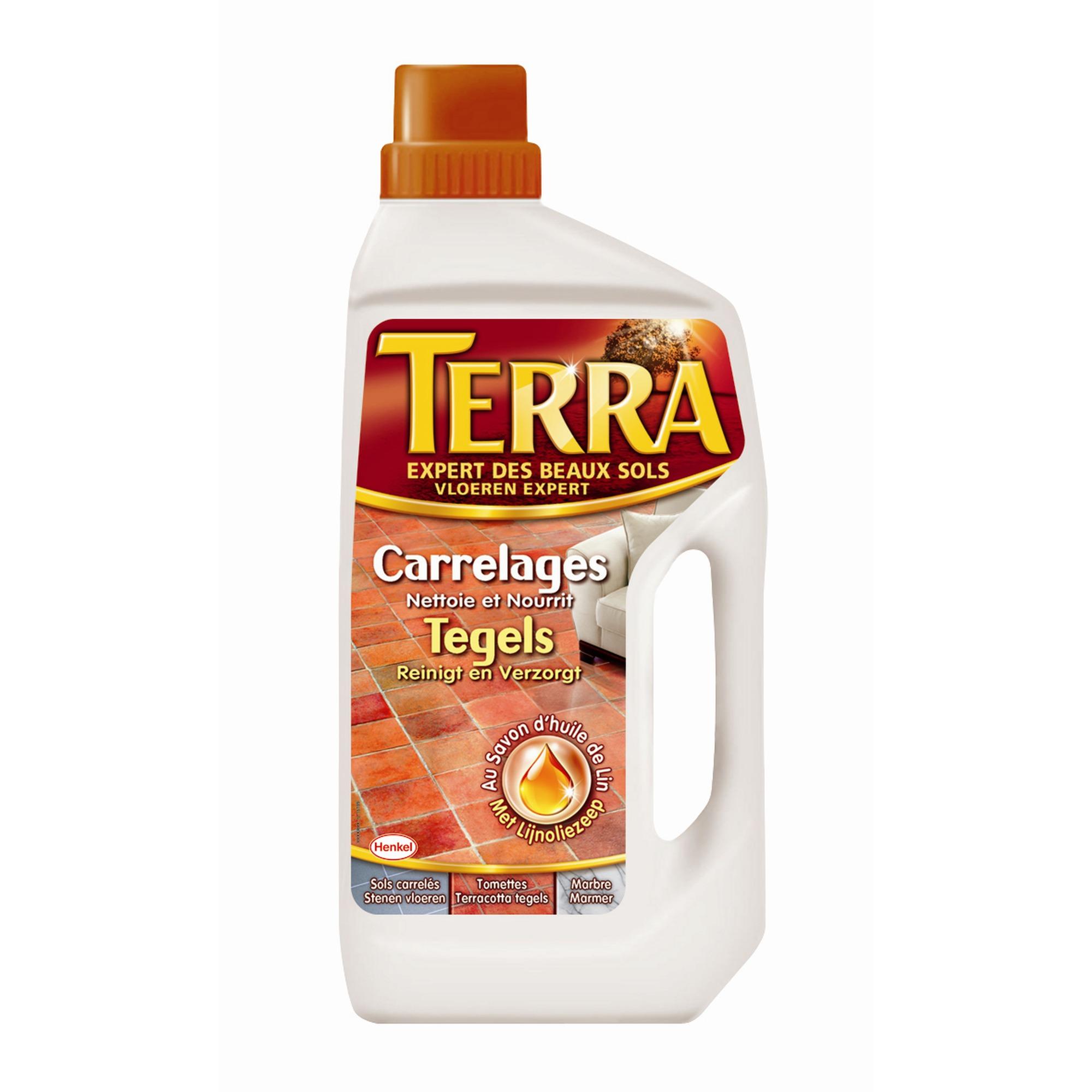 Terra huile de lin sols carrel s 1 l produits de for Huile de lin carrelage