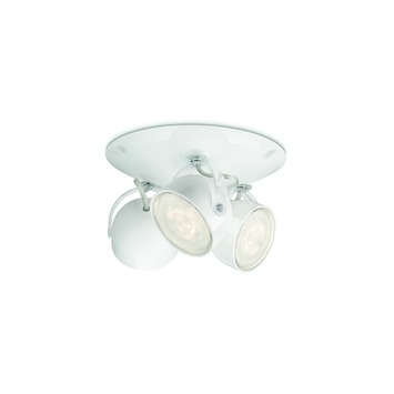 Philips Opbouwspot MyLiving Dyna LED Wit 3 x 3W