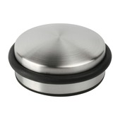 Arrêt de porte 100 mm aspect inox 800 g