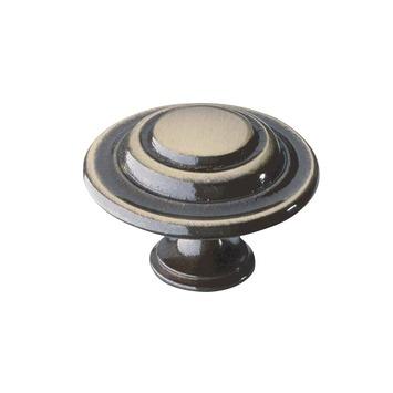 Bouton de meuble Wena 35 mm bronze brossé