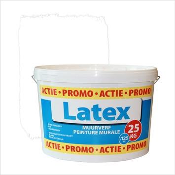 Promo muurverf latex mat wit 25 kg
