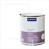 Primer carrelages GAMMA 750 ml blanc